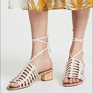 Dolce Vita Kai ankle wrap block heel sandals